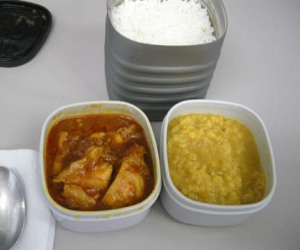 Kadhai chicken, tarka dahl